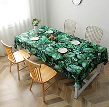 Tablecloth, Waterproof Rectangle Table Cover - Elegant Digital Art Print... - $26.51