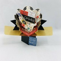 A Paper Miracle Second Nature Pop Ups Graduation Card Celebrate Gift Car... - $7.91