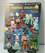 Carefree Creatures to Crochet using egg shaped hosiery container crochet... - $8.00