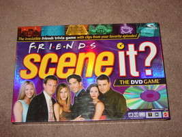 SCENE IT DVD GAME FRIENDS TRIVIA MATTEL SCREENLIFE 2005 COMPLETE EXCELLE... - $35.00