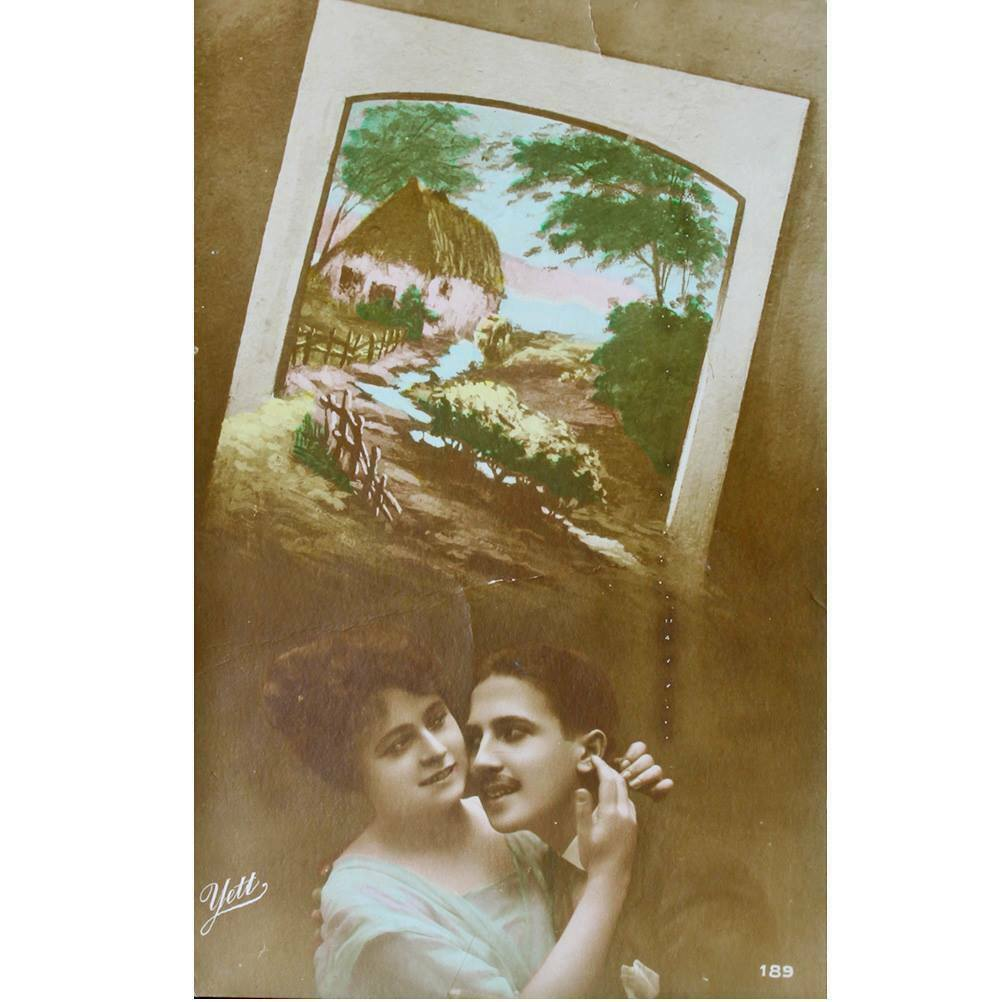 Primary image for 1905s Edwardian Era Fantasy Postcard Romantic Love (POS61-)