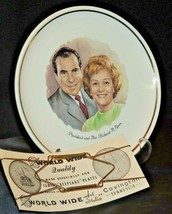 Collector's Plate President and Mrs. Richard M. Nixon AA20-7203 Vintage