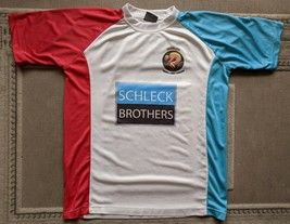 Sports Performance FRANK & ANDY SCHLECK BROTHERS t-shirt size L - $19.34