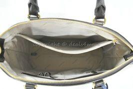 NWT Brahmin Large Duxbury Smooth Leather Satchel/Shoulder Bag in Sand Westport image 4