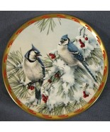 Winter Song Collector Plate Lenox Natures Collage Catherine McLung Blue ... - $21.95