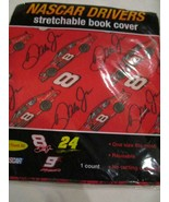 Nascar Drivers Dale Earnhardt Jr 8 Reusable Stretchable Bookcover Book C... - $4.99