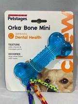 Petstages Orka Mini Bone Royal Blue Dog Chew Toy - $9.89