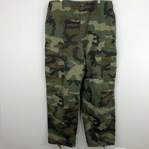 Vintage Winchester Mens Camo Camouflage Hunting Pants Size 40 Inseam 31 - $29.99
