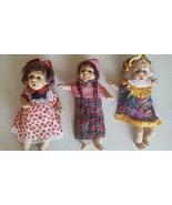 12 Expression dolls 8 1/2 inch - $15.79