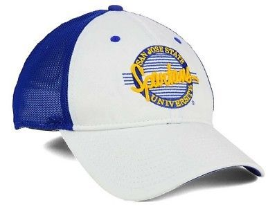 "San Jose State Spartans NCAA ""Circle"" A-Flex Stretch Fitted Hat"