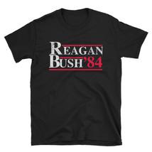 Ronald Reagan George Bush 84 1984 Vintage T Shirt Distress - $17.99+