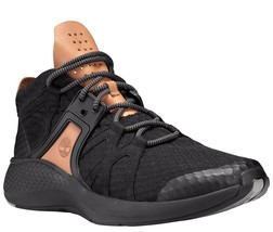 Mens Timberland Flyroam Go Chukka Sneakers - Black Knit Size 9.5 - $119.99