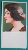PIN-UP GIRL Pauline Frederick Movie Star Actress - 1920s INK BLOTTER - $5.85