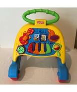 Fisher Price Brilliant Basics Musical Activity Walker Piano Developmenta... - $19.99