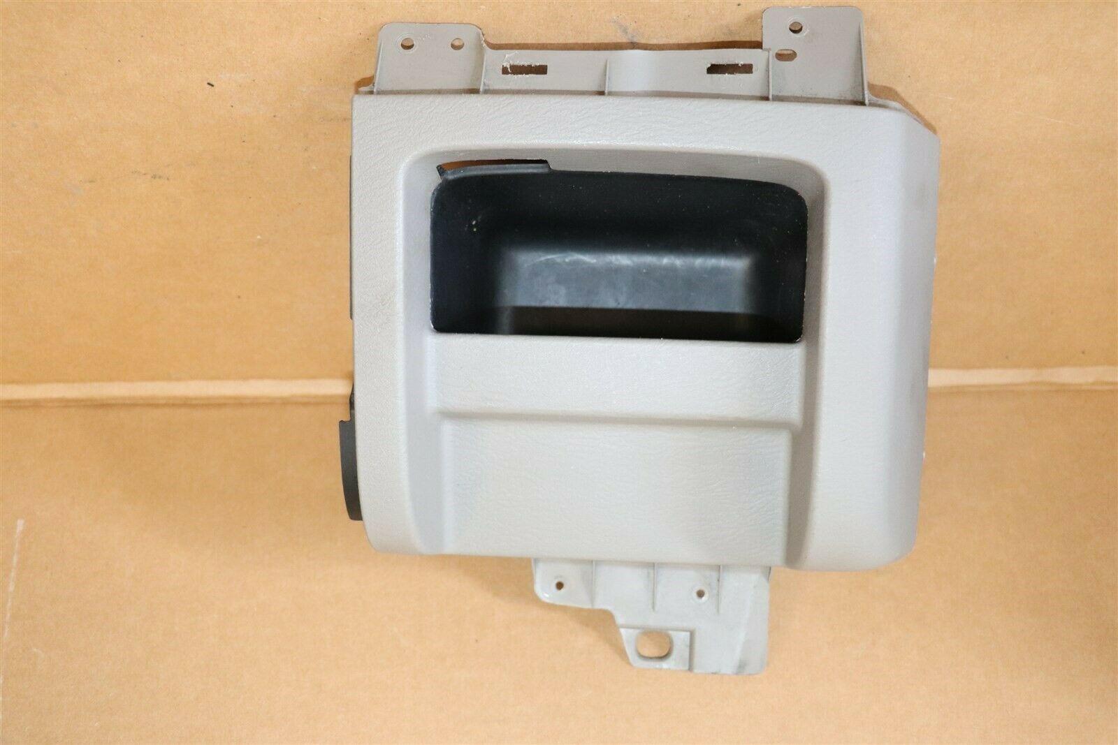 03-05 Dodge Ram 1500 2500 3500 Dash Cup Holder Delete Map Storage