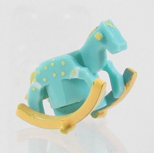 1993 Polly Pocket Vintage Doll Figure Toy Shop - Rocking horse Bluebird Toys