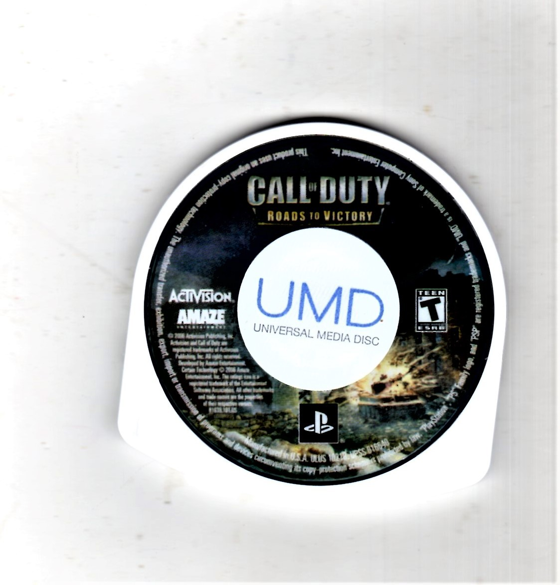 PSP - Call of Duty (Game Only) Sony PSP image 1