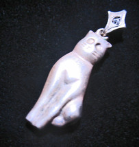 Haunted Necklace 300X Cattus Dea Cat Goddess Magick 925 7 Scholars Witch Cassia4 - $200.00