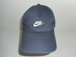 Vintage Blue Nike Baseball Adjustable Hat Cap - $29.99