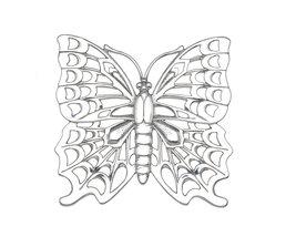 Arthur Court Butterfly Trivet - $24.55