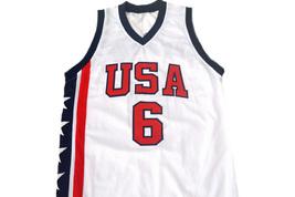 Tracy McGrady #6 Team USA Men Basketball Jersey White Any Size image 4