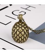 Movie Game of Thrones Dragon Egg Metal Necklace Action Figure Gift Toys ... - $3.00