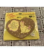 Brand New Happy Corker Cat Themed Magnetic Cork Memo Board 4 Dog Rescue ... - £6.11 GBP