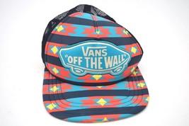 """Vintage VANS """"OFF THE WALL"""" Aztec Southwestern Adjustable Snapback Hat (D2) - $18.69"""