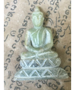 Rare Holy Blessed Holy Green Jade Phra Pang-Samathi Luck Ancient Buddha ... - $9.99