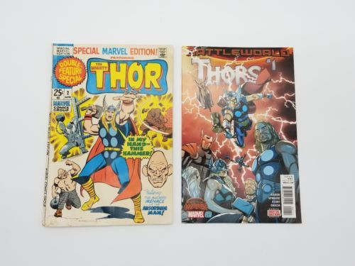 Thor Special Eiditon True Beilvers Thors 7 Marvel Comic Book Lot