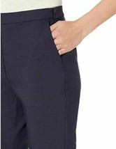 Amazon Brand - Lark & Ro Women's Stretch Crop Kick Flare Pant -Atlantic Navy image 2