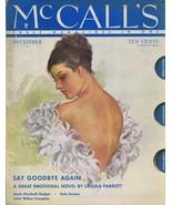 ORIGINAL Vintage December 1934 McCall's Magazine FRESH TO THE HOBBY! - $55.81