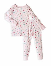 Skylar Luna Girl's Long Sleeves Organic Cotton Pajamas- Sizes 2T- Smile - $36.17