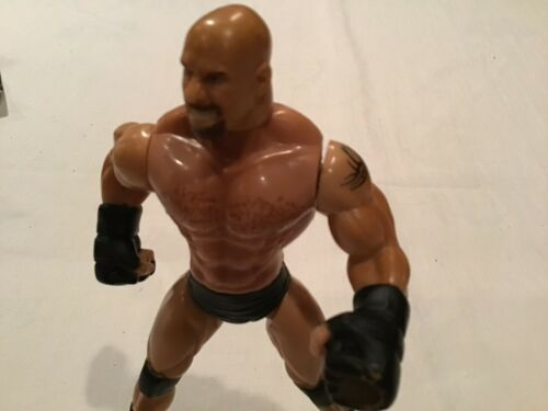 "1999 Goldberg 7"" Toy Biz Smash N' Slam Wrestling WCW Action Figure"