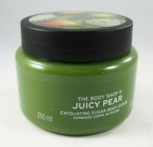 (1) The Body Shop Limited Edition Juicy Pear Sugar Body Scrub 10.5oz New - $18.99