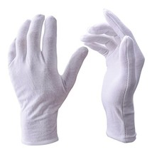 White Gloves, Zealor 12 Pairs Soft Cotton Gloves, Coin Jewelry Silver In... - $13.23