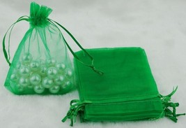 AA1: 12.5cm x 18cm Organza Bags Wedding Favor Gift Candy Drawstring Bag1... - $7.98