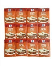 12 McCormick Cheesy Taco Seasoning Mix Spice Packets Real Cheese lot pac... - $31.68