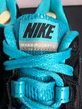Nike Reax Rocket 2 Running Shoes 454175 004 Black Aqua Womens Size 8.5 image 5