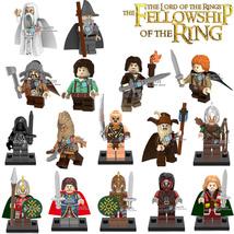 16pcs Figures The Lord Of The Rings Saruman Aragorn Gandalf Uruk-Hai Lego Block - $21.99