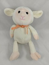 "Animal Adventure Lamb Sheep Plush 10"" 2015 Tan Cream Stuffed Animal - $15.38"