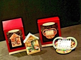 Hallmark Handcrafted Ornaments AA-191771F Collectible ( 2 pieces ) - $29.95