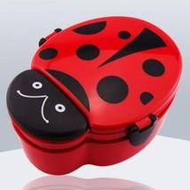 Ladybug Cartoon Food Container Kid Fruit Snack Bento Outdoor Microwave L... - €10,84 EUR