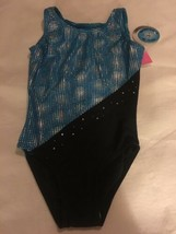 Girls Size Small TS Active Topsport Gymnastics Dance Leotard Turquoise B... - $20.00