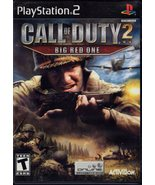 PlayStation 2 - Call of Duty 2 - Big Red One  - $8.85