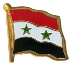 Syria Flag Hat Tac or Lapel Pin - $6.84