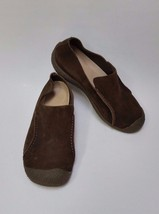 Keen Shoes Slip-On Flats Brown Suede Womens Size 8.5 US 41 EU - $59.36