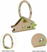 Trekassy E-Track Tie Down Kit, 8 O-Ring Anchors and 8 Rope Tie Offs, Tie Down image 3