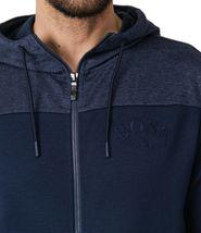 Hugo Boss Men's Premium Zip-Through Hoodie Sweatshirt Jacket With Curved Logo image 9