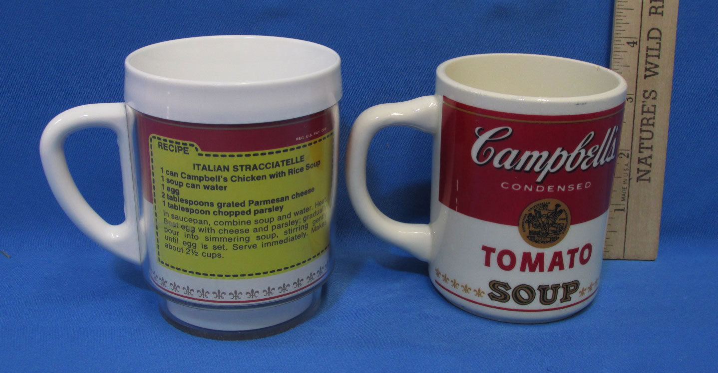 Lot 2 Campbells Soup Coffee Mugs Cups and 37 similar items